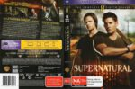Supernatural: Season 8 (2013) R4 DVD Cover & Label