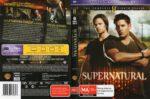 Supernatural: Season 8 (2013) R4 DVD Cover & Label