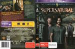 Supernatural: Season 9 (2014) R4 DVD Cover & Label