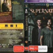 Supernatural: Season 9 (2014) R4 DVD Cover & Label