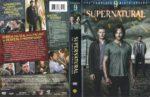 Supernatural: Season 9 (2014) R1 DVD Cover & Label