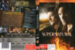 Supernatural: Season 10 (2015) R4 DVD Cover & Label