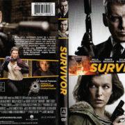 Survivor (2015) R1 DVD Cover & Label