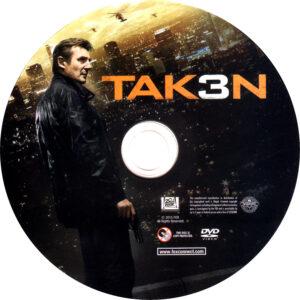 Taken 3 dvd label