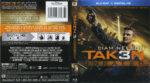 Taken 3 (2015) Blu-Ray DVD Cover & Label