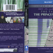 The Tale Of The Princess Kaguya (2014) Blu-Ray DVD Cover & Label