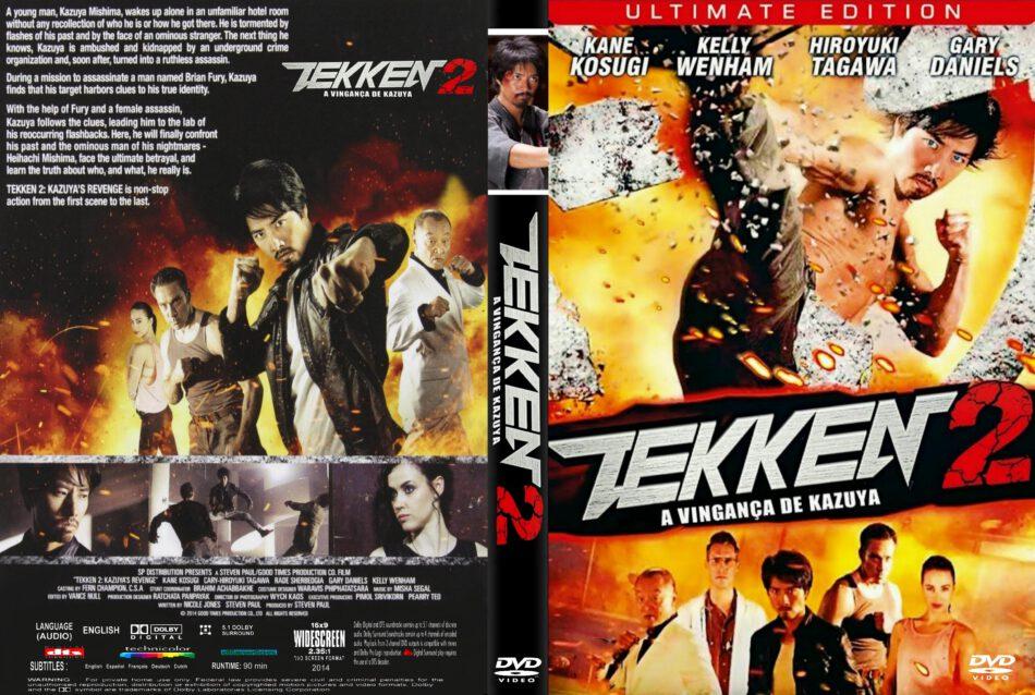 Tekken 2 Kazuya S Revenge Dvd Cover 2014 R1 Custom