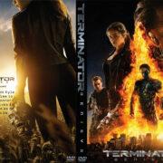 Terminator Genisys (2015) R0 Custom DVD Cover