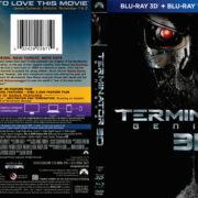 Terminator Genisys 3D (2015) R1 Blu-Ray DVD Cover