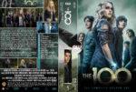 The 100: Season 1 (2014) R0 Custom DVD Cover