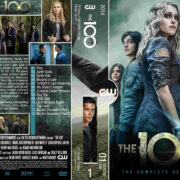 The 100: Season 1 (2014) R0 Custom DVD Cover