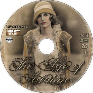 the age of adaline dvd label