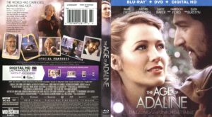 The Age Of Adaline (A Incrível História De Adaline) (Blu-Ray) dvd cover