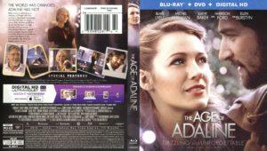The Age Of Adaline (A Incrível História De Adaline) (Blu-Ray) dvd cover