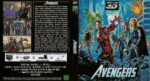 The Avengers 3D Blu-Ray German DVD Cover (2012)