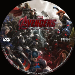 The Avengers - Age Of Ultron custom Label