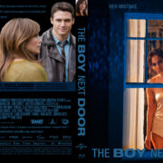 The Boy Next Door (2015) R0 Custom BD Cover & Label