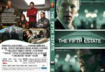 The Fifth Estate (2013) R1 CUSTOM DVD Cover
