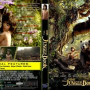 The Jungle Book (2016) R1 CUSTOM DVD Cover