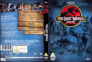 The Lost World -Jurassic Park (1997) R2 Cover