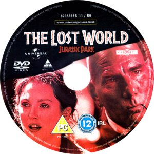The Lost World -Jurassic Park (1997) R2 Label