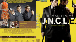 The Man From U.N.C.L.E. custom cover
