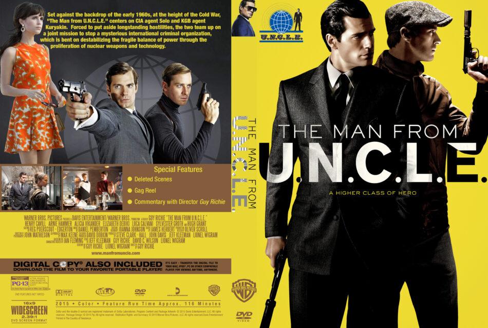 The Man From U.N.C.L.E. custom cover