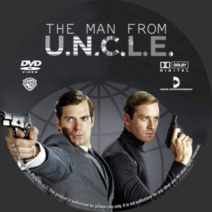 The Man From U.N.C.L.E. custom label