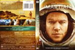 The Martian (2015) R1 DVD Cover