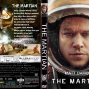 The Martian (2015) R1 CUSTOM DVD Cover