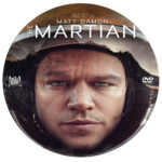 The Martian (2015) R0 Custom Label