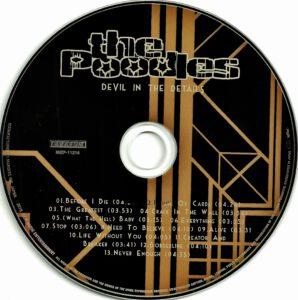 The Poodles - Devil In The Details - CD