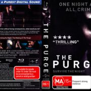 The Purge (2013) Blu-Ray DVD Cover