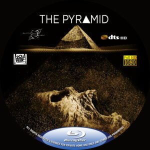 the pyramid blu-ray dvd label