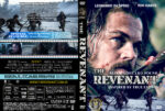 THE REVENANT (2015) R1 Custom DVD Cover