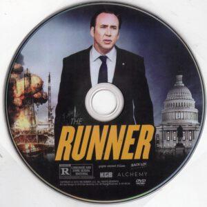 The Runner (Fator De Risco) dvd label