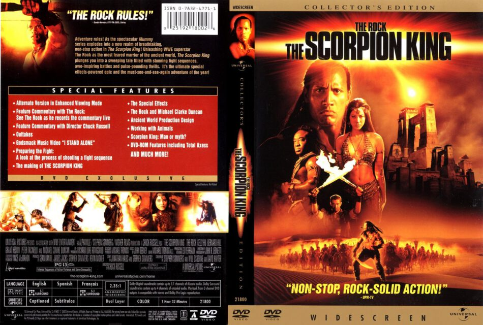 The Scorpion King DVD Cover (2002) R2