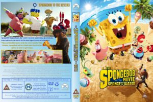 The Spongebob Movie Sponge Out Of Water - Cover