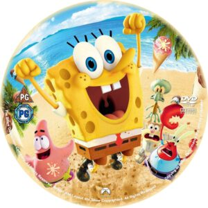 The Spongebob Movie Sponge Out Of Water - DVD