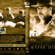 The Water Diviner (2014) R0 Custom DVD Cover & Label