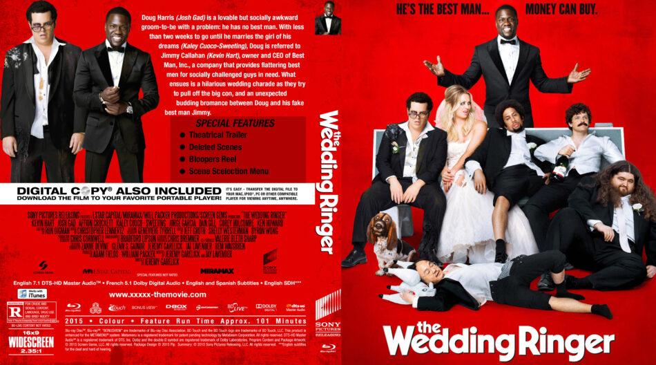 The Wedding Ringer custom BD cover