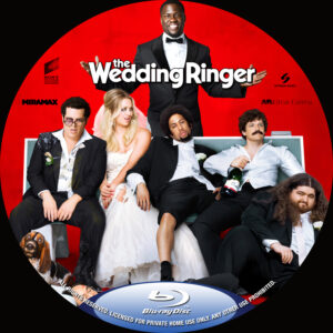 The Wedding Ringer custom BD label