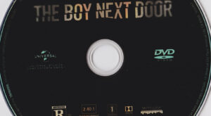 the boy next door dvd label