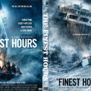 The Finest Hours (2016) R0 Custom DVD Cover