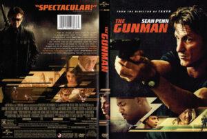 the gunman dvd cover