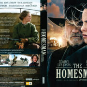The Homesman (2014) R1 DVD Cover