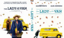 The Lady in the Van (2015) Custom DVD Cover