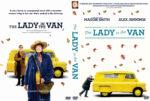 The Lady in the Van (2015) Custom DVD Cover