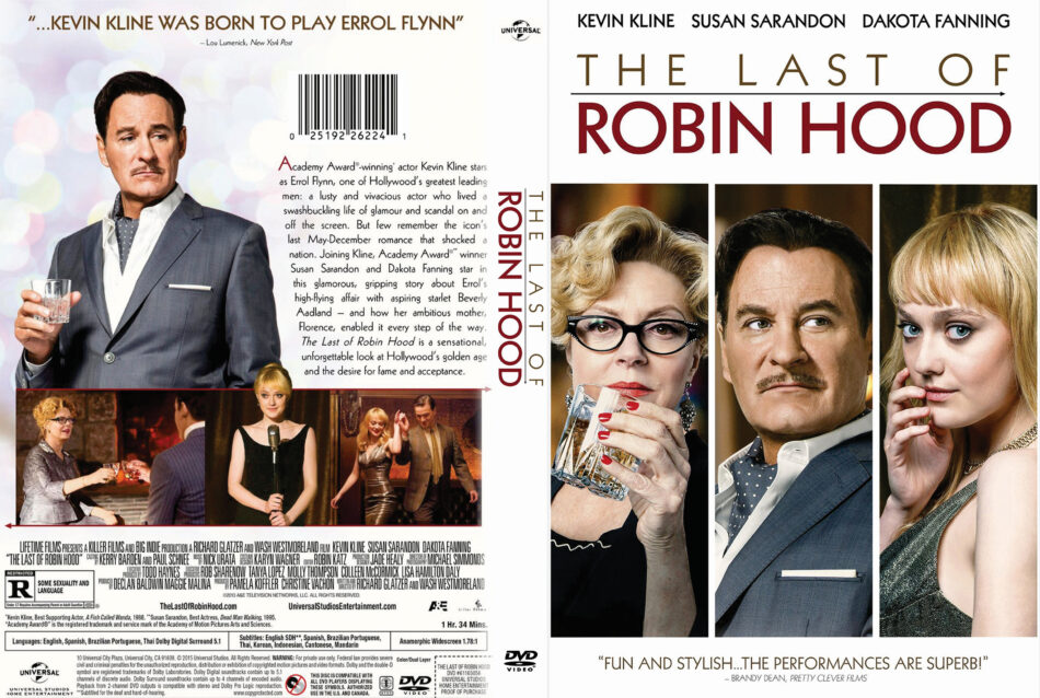 The Last of Robin Hood dvd cover