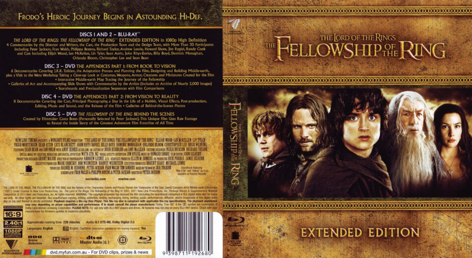 The Lord of the Rings: The Fellowship of the Ring (2001 ...